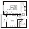 Продается квартира 1-ком 36 м² проспект Энергетиков 9, метро Ладожская