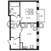 Продается квартира 1-ком 51.3 м² Приморский проспект 44, метро Старая деревня
