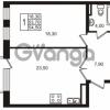 Продается квартира 1-ком 53.7 м² Приморский проспект 44, метро Старая деревня