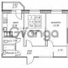 Продается квартира 2-ком 53.33 м² улица Валерия Гаврилина 18к 1, метро Парнас