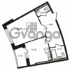 Продается квартира 1-ком 47.6 м² Приморский проспект 44, метро Старая деревня