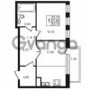 Продается квартира 1-ком 51.8 м² Приморский проспект 44, метро Старая деревня