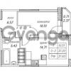 Продается квартира 1-ком 37.93 м² улица Валерия Гаврилина 18к 1, метро Парнас