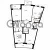 Продается квартира 4-ком 113.9 м² Приморский проспект 44, метро Старая деревня