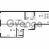 Продается квартира 2-ком 57 м² улица Катерников 1, метро Проспект Ветеранов