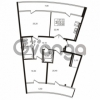 Продается квартира 3-ком 118.1 м² Приморский проспект 44, метро Старая деревня