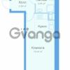 Продается квартира 1-ком 27 м² Заречная улица 20к 1, метро Парнас