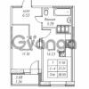Продается квартира 1-ком 38.55 м² улица Валерия Гаврилина 18к 1, метро Парнас