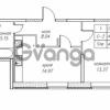 Продается квартира 1-ком 41.53 м² улица Валерия Гаврилина 18к 1, метро Парнас