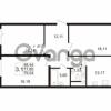 Продается квартира 3-ком 77.85 м² улица Адмирала Черокова 18к 2, метро Проспект Ветеранов