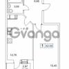 Продается квартира 1-ком 42 м² Гаражный проезд 1, метро Проспект Просвещения