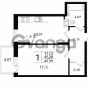 Продается квартира 1-ком 49.35 м² Приморский проспект 52, метро Старая деревня