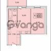 Продается квартира 1-ком 39 м² Красносельское шоссе 1, метро Проспект Ветеранов