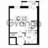 Продается квартира 1-ком 28.8 м² проспект Александровской Фермы 8, метро Пролетарская