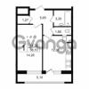 Продается квартира 1-ком 38.1 м² проспект Александровской Фермы 8, метро Пролетарская