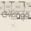 Продается квартира 3-ком 81 м² площадь Европы 1, метро Приморская
