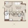 Продается квартира 1-ком 45 м² площадь Европы 1, метро Приморская
