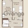 Продается квартира 1-ком 46 м² площадь Европы 1, метро Приморская