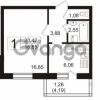 Продается квартира 1-ком 32.52 м² Полюстровский проспект 71, метро Лесная