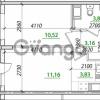 Продается квартира 1-ком 33 м² Воронцовский бульвар 1, метро Девяткино