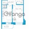 Продается квартира 1-ком 44.2 м² проспект Маршала Блюхера 5к А, метро Лесная