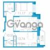 Продается квартира 2-ком 58.35 м² проспект Маршала Блюхера 5к А, метро Лесная