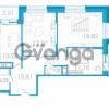 Продается квартира 3-ком 86.79 м² проспект Маршала Блюхера 5к А, метро Лесная