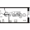 Продается квартира 1-ком 26.05 м² Европейский проспект 4к 2, метро Улица Дыбенко