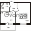 Продается квартира 1-ком 32.55 м² Европейский проспект 4к 2, метро Улица Дыбенко