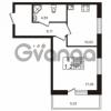 Продается квартира 1-ком 39.74 м² Европейский проспект 4к 2, метро Улица Дыбенко