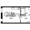 Продается квартира 1-ком 28.82 м² Европейский проспект 4к 2, метро Улица Дыбенко