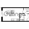 Продается квартира 1-ком 25.58 м² Европейский проспект 4к 2, метро Улица Дыбенко