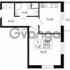 Продается квартира 1-ком 39.83 м² Европейский проспект 4к 2, метро Улица Дыбенко