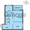 Продается квартира 2-ком 56.05 м² Зеленая улица 7, метро Парнас
