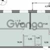 Продается квартира 2-ком 56.39 м² Новоорловская улица 101, метро Озерки
