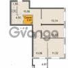 Продается квартира 3-ком 69.91 м² Новоорловская улица 101, метро Озерки