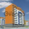 Продается квартира 1-ком 45.3 м² Шоссейная улица 1, метро Ладожская