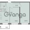 Продается квартира 2-ком 59.24 м² Новоорловская улица 101, метро Озерки