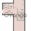 Продается квартира 1-ком 41.26 м² Новоорловская улица 101, метро Озерки