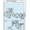 Продается квартира 1-ком 28.11 м² улица Николая Рубцова 22к 1, метро Ладожская