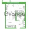 Продается квартира 1-ком 29.42 м² Комендантский проспект 58к 3, метро Комендантский проспект