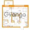 Продается квартира 1-ком 45.54 м² Комендантский проспект 58к 3, метро Комендантский проспект