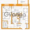 Продается квартира 1-ком 47.07 м² Комендантский проспект 58к 5, метро Комендантский проспект