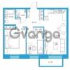 Продается квартира 2-ком 57.24 м² Комендантский проспект 58к 5, метро Комендантский проспект