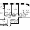 Продается квартира 3-ком 104 м² Новгородская улица 17, метро Чернышевская