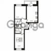 Продается квартира 2-ком 58.71 м² шоссе в Лаврики 74к 1, метро Девяткино