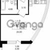 Продается квартира 1-ком 32.7 м² Славянская улица 1, метро Парнас
