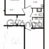 Продается квартира 2-ком 56 м² Немецкая улица 1, метро Улица Дыбенко