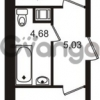 Продается квартира 1-ком 41 м² Европейский проспект 1, метро Улица Дыбенко