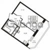 Продается квартира 1-ком 35.25 м² улица Шувалова 1, метро Девяткино
